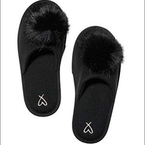 Victoria's Secret Pom Slippers
